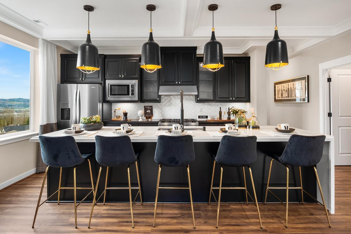 Kitchen featured in the Scappoose with Basement By Toll Brothers in Portland-Vancouver, OR