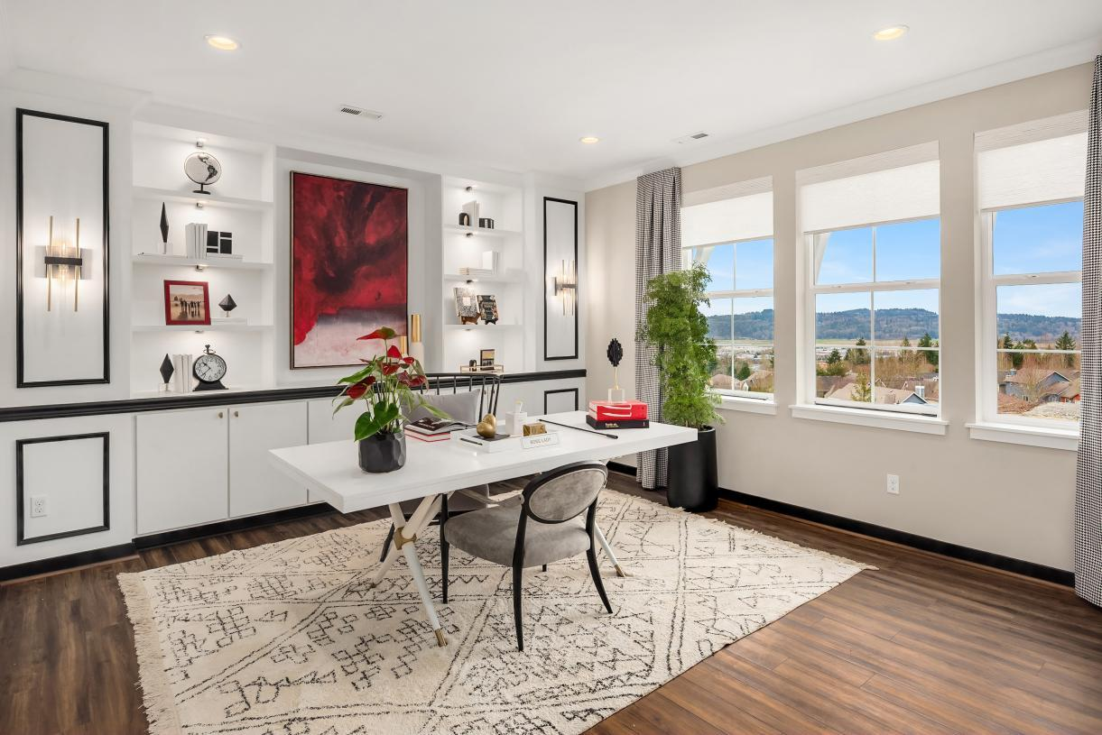 Living Area featured in the Scappoose with Basement By Toll Brothers in Portland-Vancouver, OR