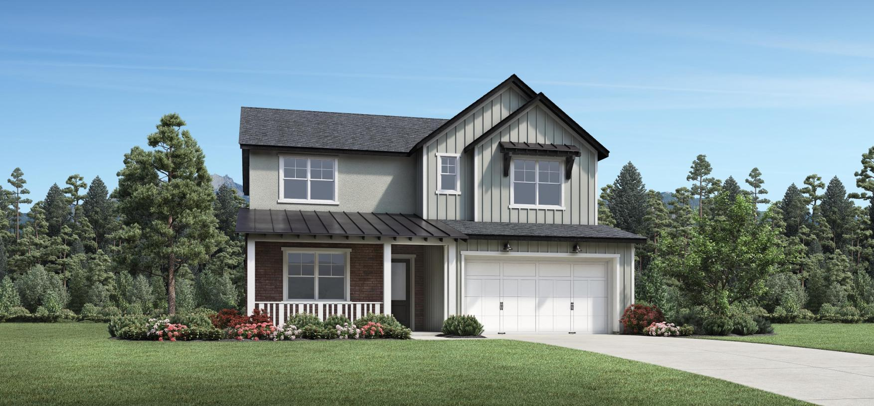 Exterior featured in the Rockport By Toll Brothers in Salt Lake City-Ogden, UT