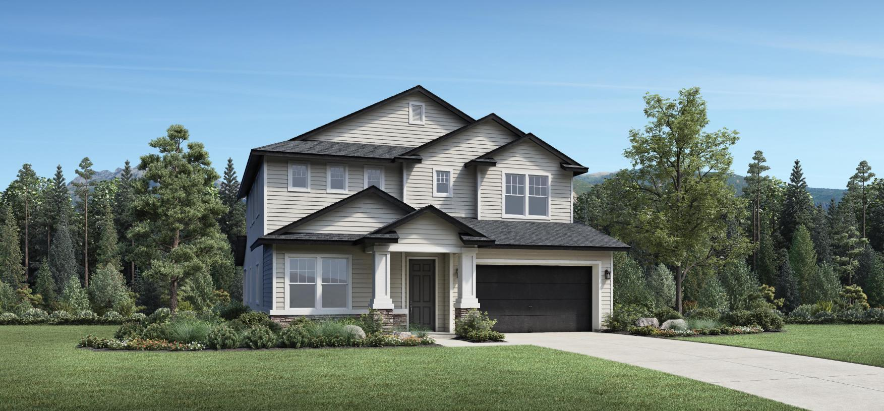 Exterior featured in the Cutler By Toll Brothers in Salt Lake City-Ogden, UT
