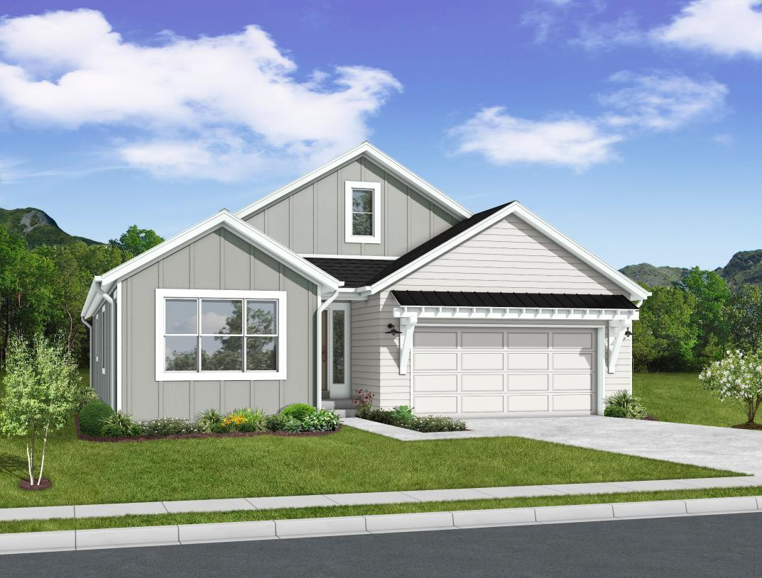 Exterior featured in the Oxford By Toll Brothers in Colorado Springs, CO