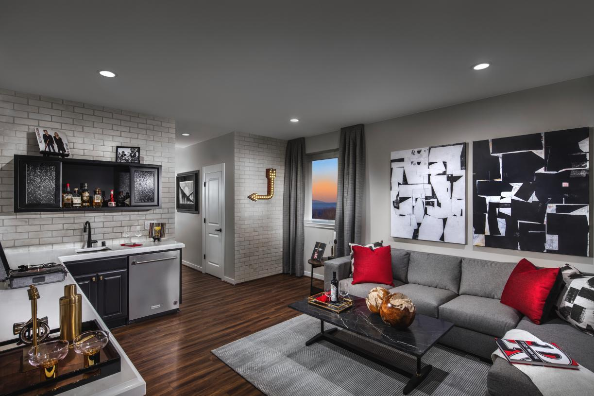 Living Area featured in the Scappoose By Toll Brothers in Portland-Vancouver, OR