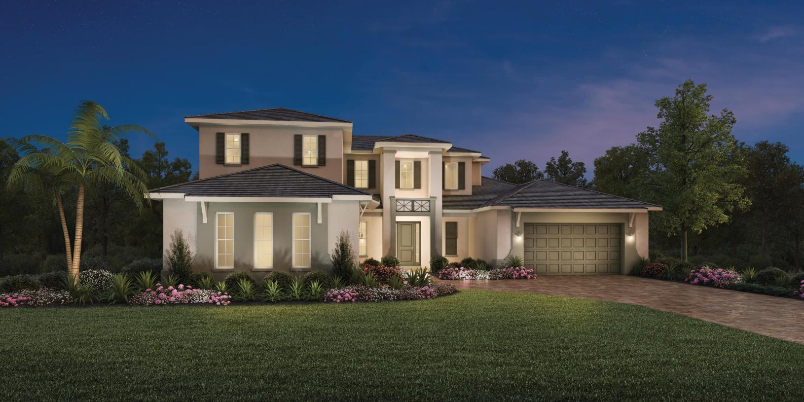 Exterior featured in the Fullerton By Toll Brothers in Sarasota-Bradenton, FL