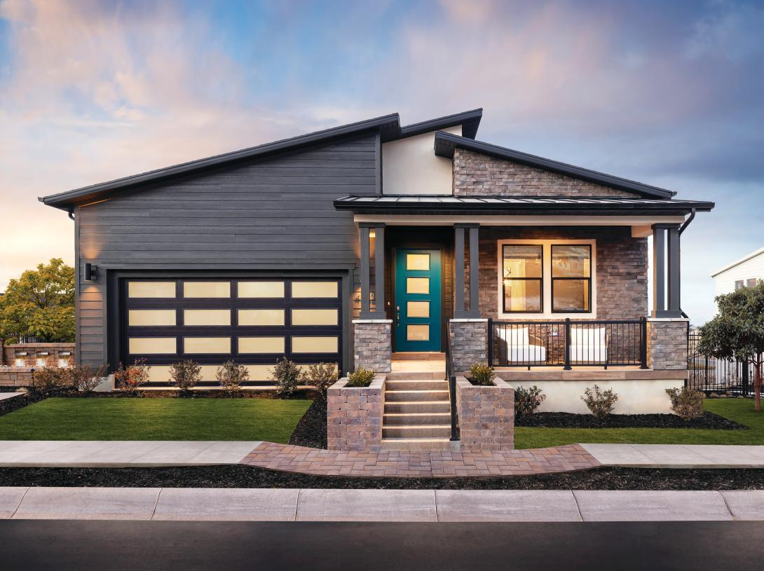 Exterior featured in the Scofield By Toll Brothers in Salt Lake City-Ogden, UT