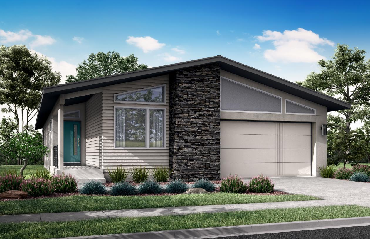 Exterior featured in the Daphne By Toll Brothers in Colorado Springs, CO