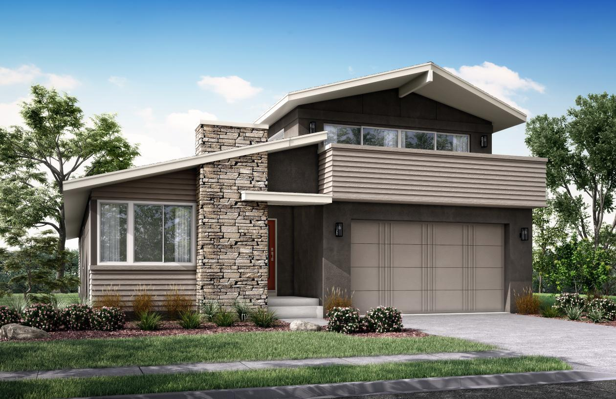 Exterior featured in the Lovell By Toll Brothers in Colorado Springs, CO