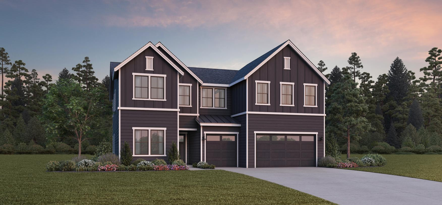 Exterior featured in the Tarragon By Toll Brothers in Portland-Vancouver, OR