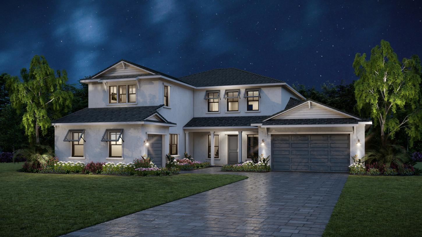 Exterior featured in the Dexter By Toll Brothers in Tampa-St. Petersburg, FL