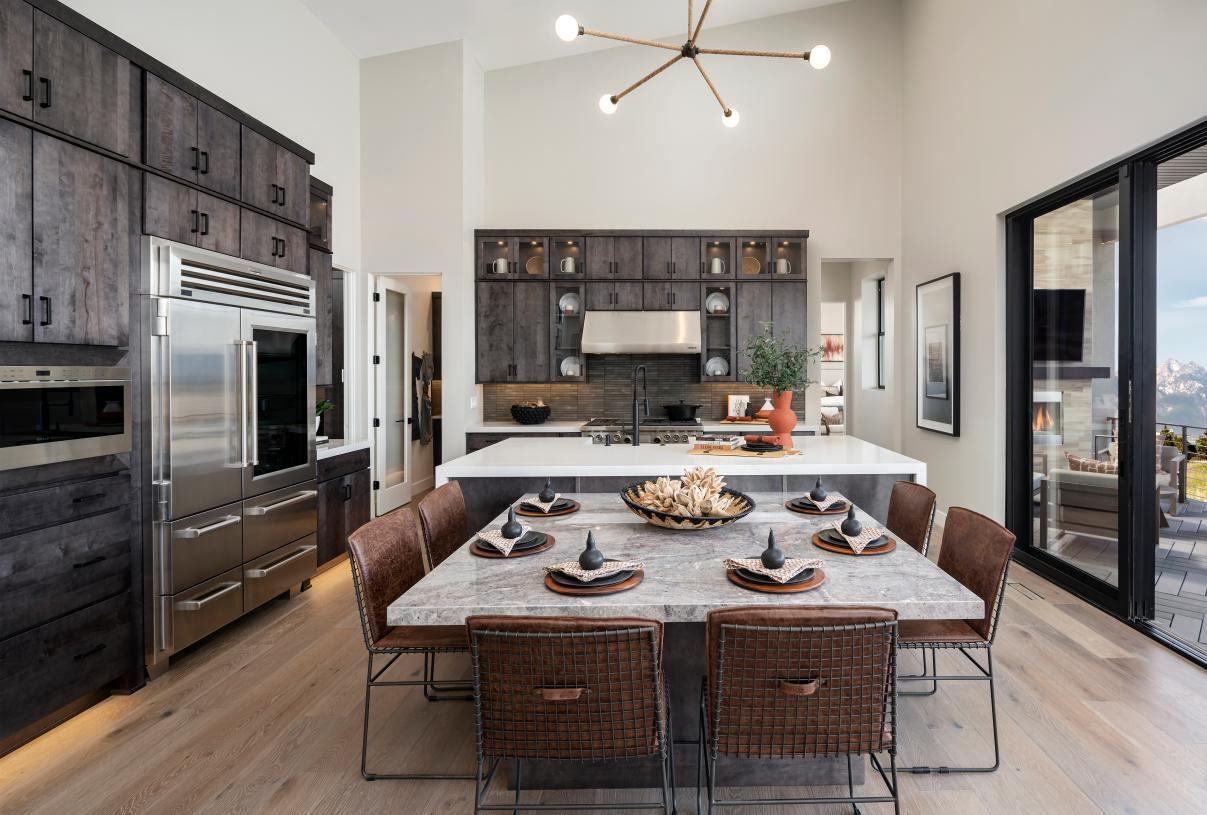 Kitchen featured in the Stewart By Toll Brothers in Salt Lake City-Ogden, UT