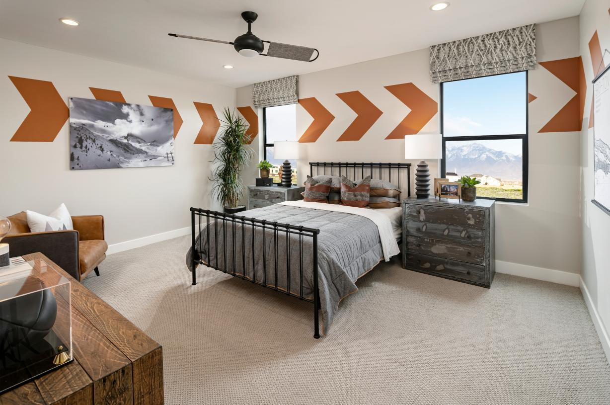 Bedroom featured in the Stewart By Toll Brothers in Salt Lake City-Ogden, UT