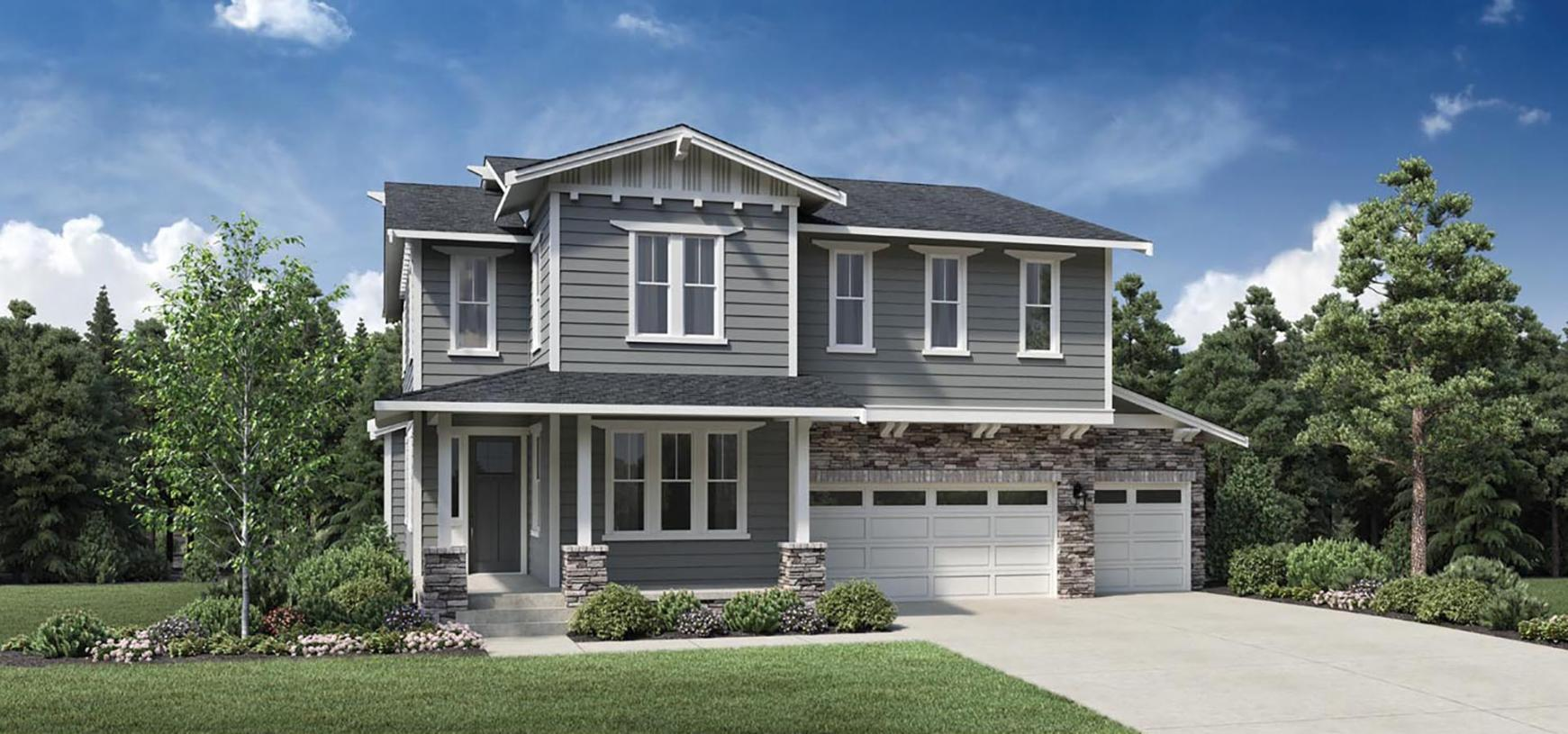 Exterior featured in the Agate By Toll Brothers in Portland-Vancouver, OR