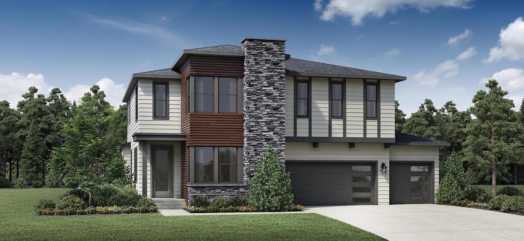 Exterior featured in the Alsea By Toll Brothers in Portland-Vancouver, OR