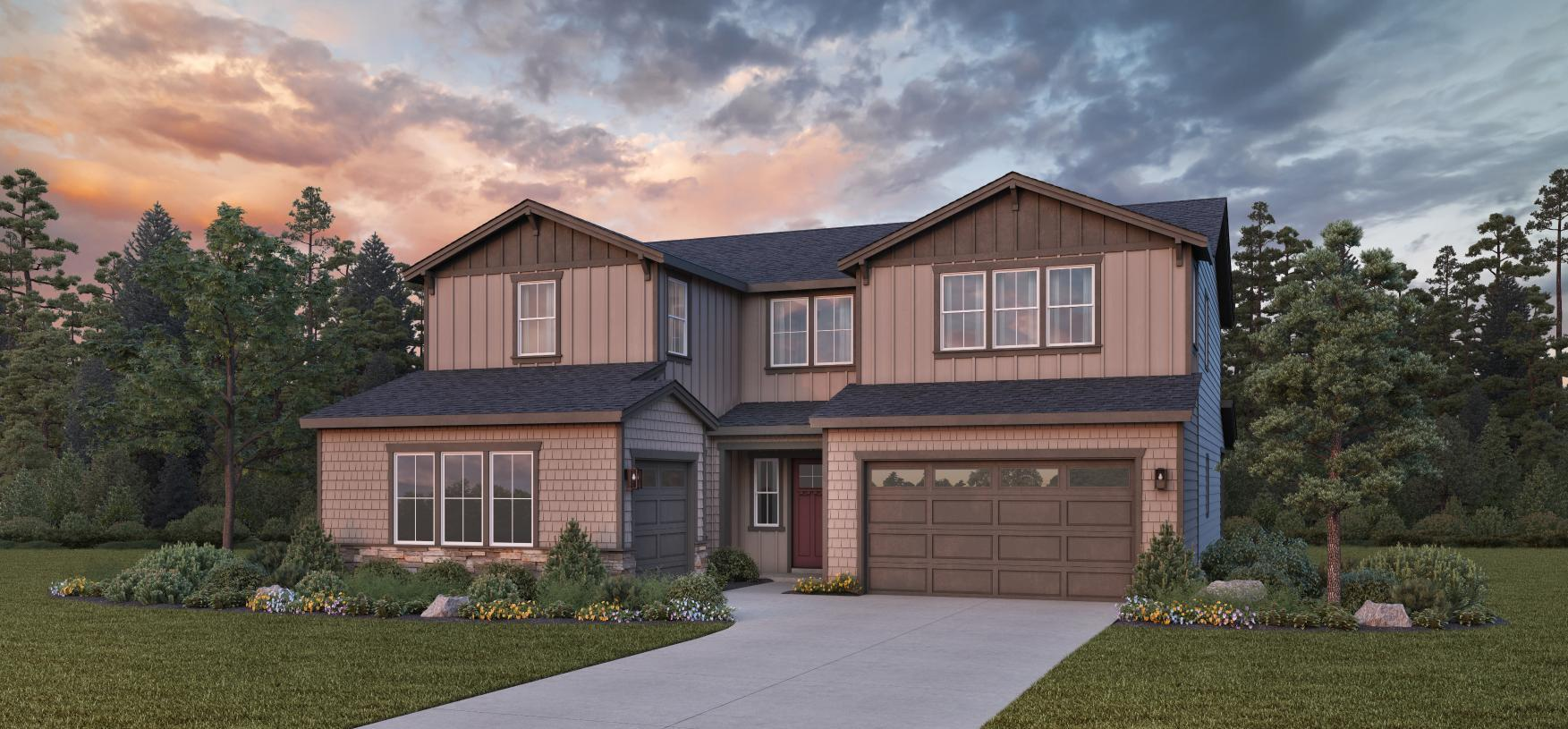 Exterior featured in the Rockcress By Toll Brothers in Portland-Vancouver, OR