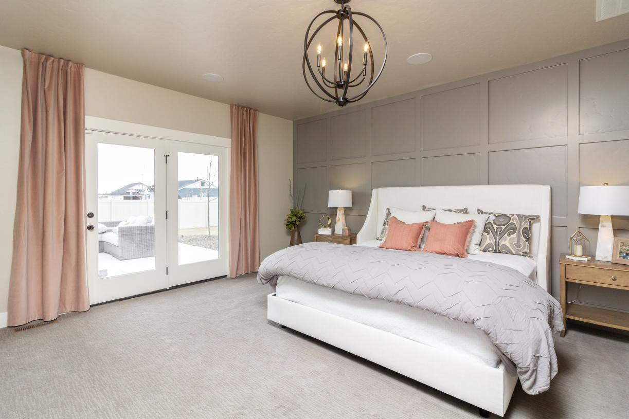 Bedroom featured in the Andrew Prairie By Toll Brothers in Boise, ID
