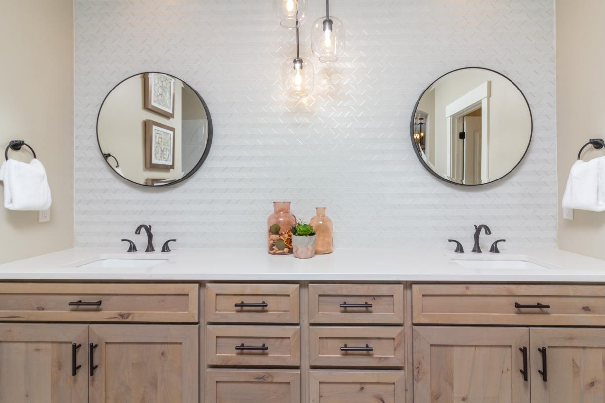 Bathroom featured in the Andrew By Toll Brothers in Boise, ID