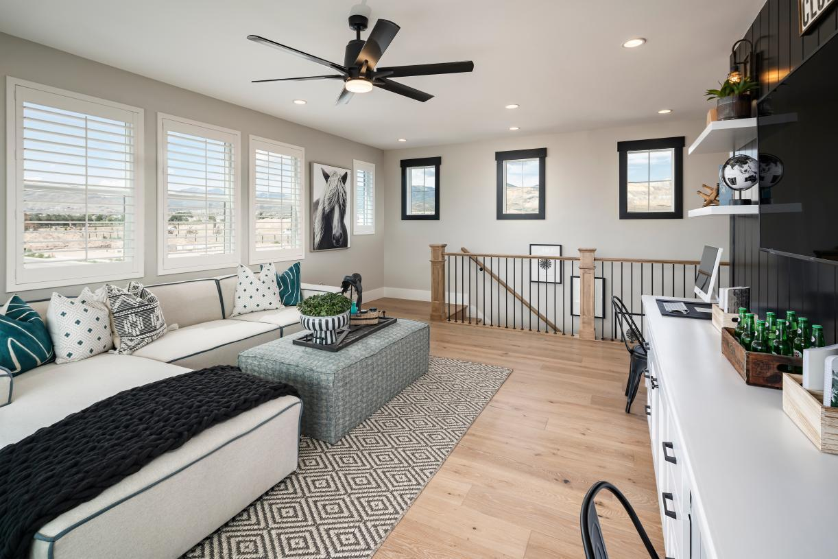 Living Area featured in the Porter By Toll Brothers in Provo-Orem, UT