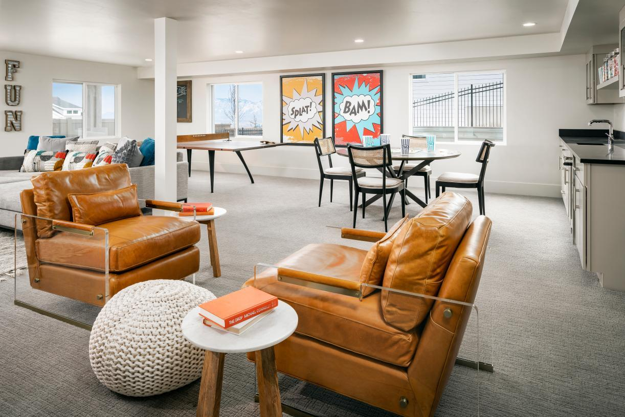 Living Area featured in the Scofield Mountain Modern By Toll Brothers in Salt Lake City-Ogden, UT