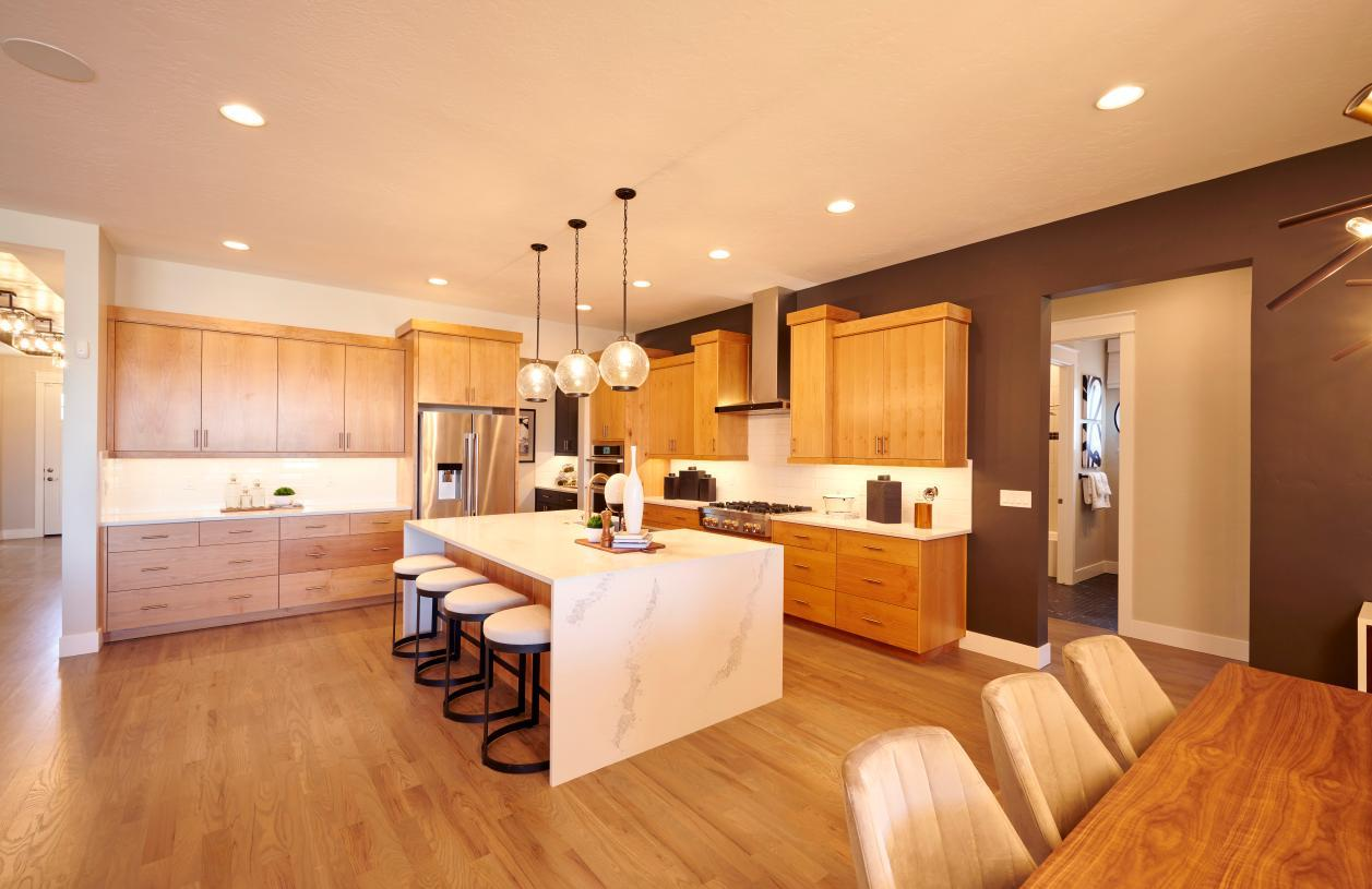 Kitchen featured in the Holbrook By Toll Brothers in Boise, ID