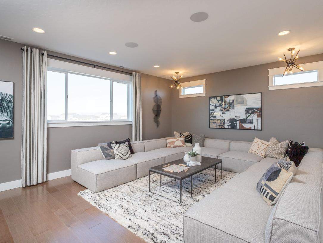 Living Area featured in the McKinnon By Toll Brothers in Boise, ID