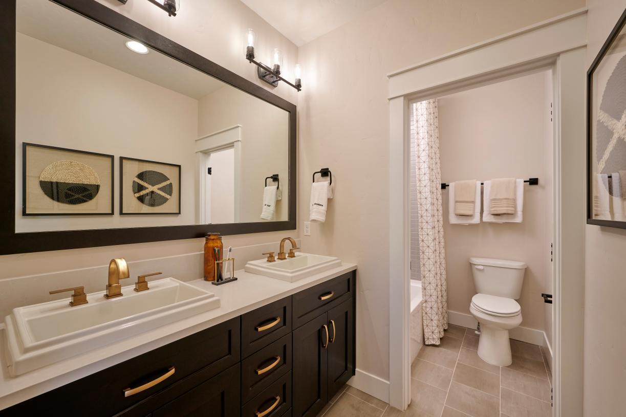 Bathroom featured in the McKinnon By Toll Brothers in Boise, ID