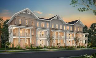Falls - Canvas Townes: Greenville, South Carolina - Toll Brothers