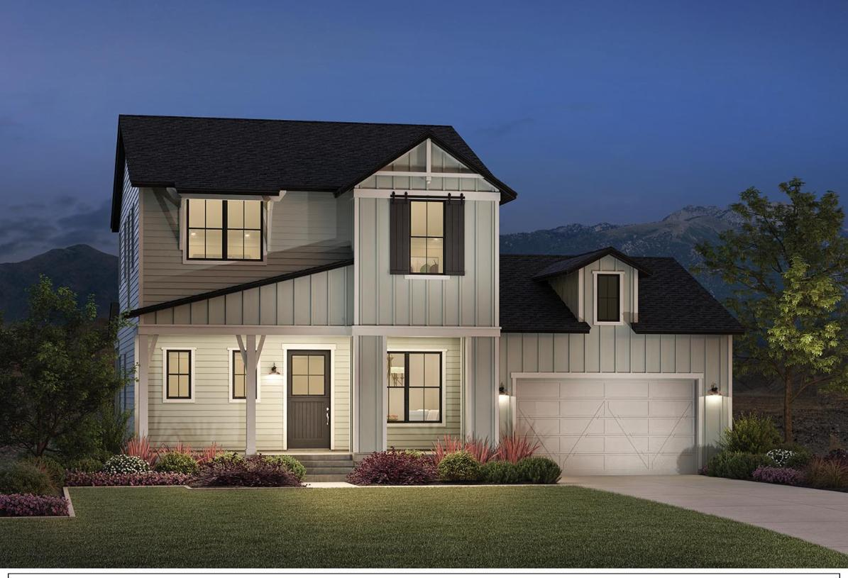 Exterior featured in the Goodwin By Toll Brothers in Provo-Orem, UT