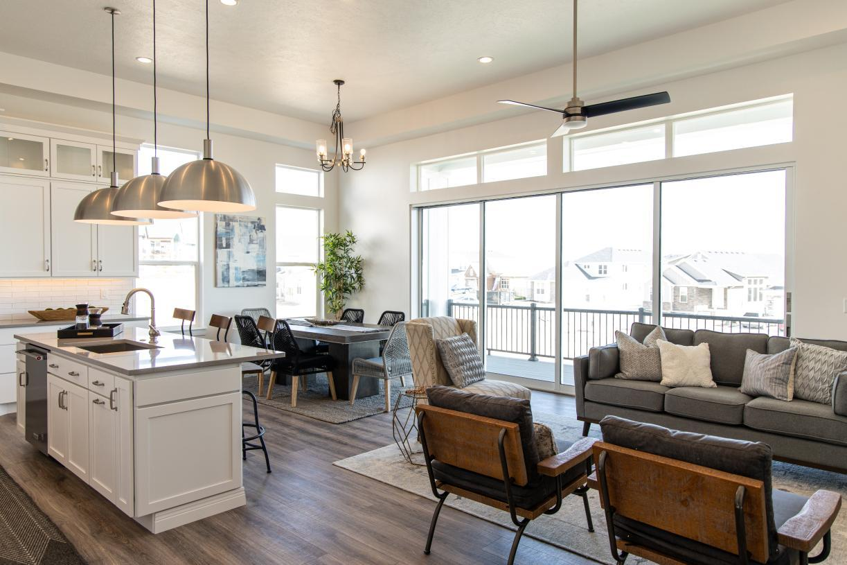 Living Area featured in the Asher By Toll Brothers in Provo-Orem, UT