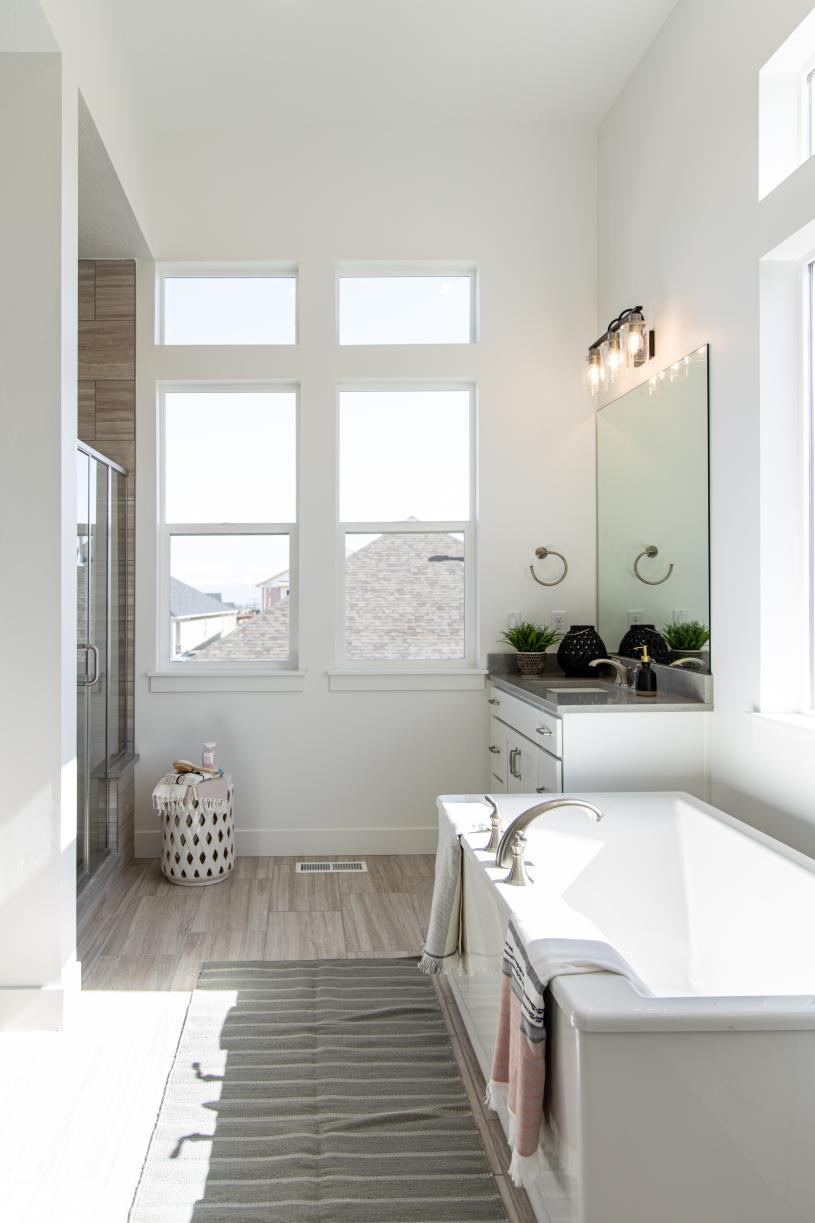 Bathroom featured in the Asher By Toll Brothers in Provo-Orem, UT