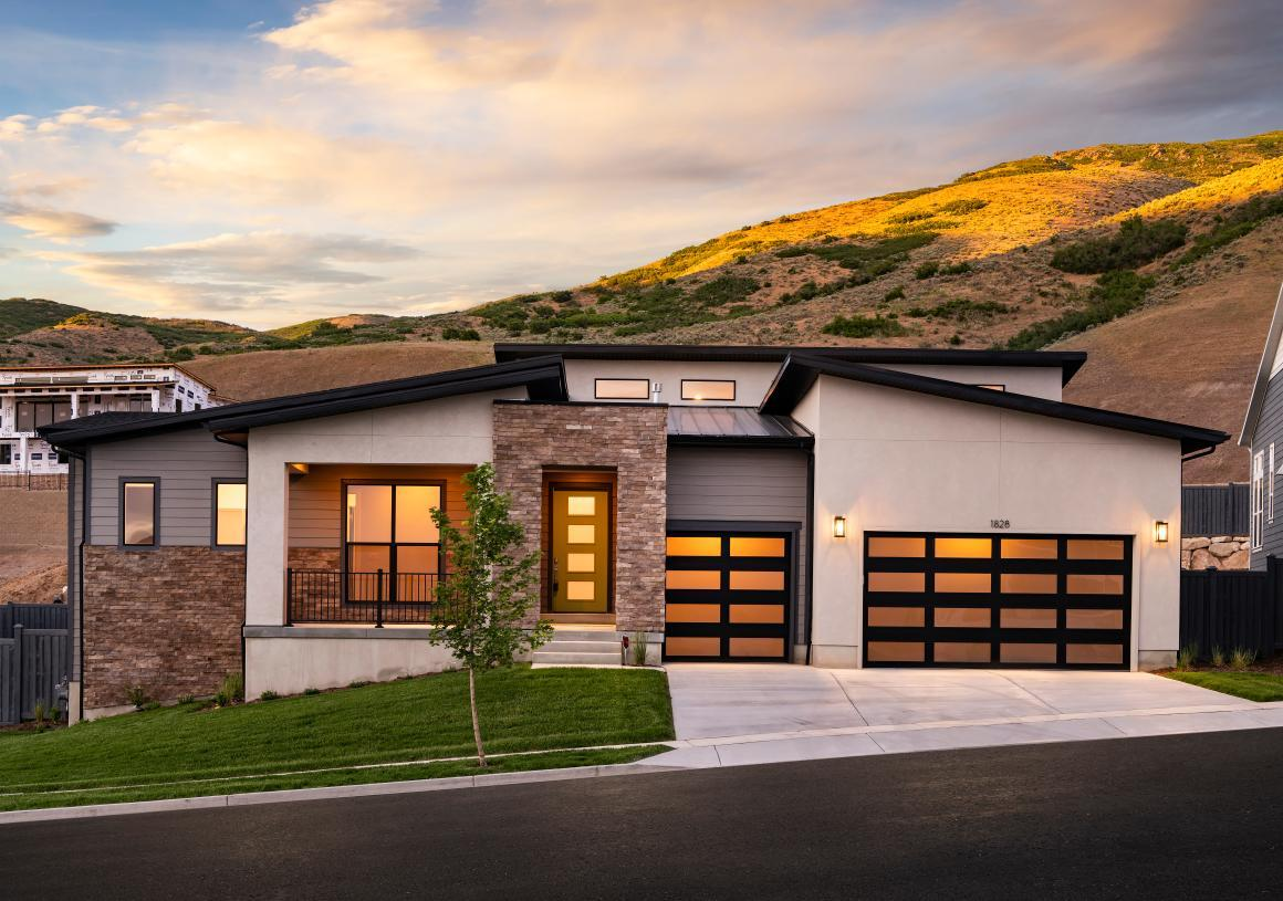 Exterior featured in the Kletting By Toll Brothers in Provo-Orem, UT