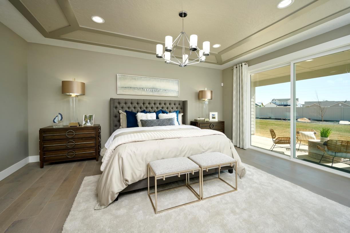 Bedroom featured in the Graham Cascade By Toll Brothers in Boise, ID