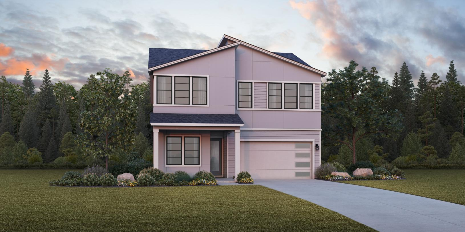 Exterior featured in the Donovan By Toll Brothers in Portland-Vancouver, OR