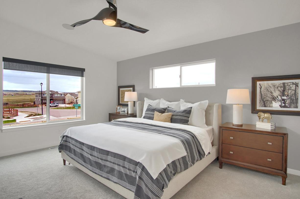 Bedroom featured in the Vineyard By Toll Brothers in Colorado Springs, CO