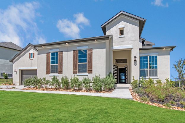 Elevation Image:Great curb appeal with the Tuscan stucco exterior