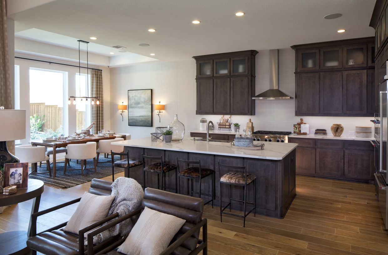 Kitchen featured in the Longview By Toll Brothers in Austin, TX