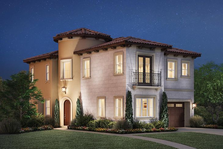 Elevation Image:The Italian Villa