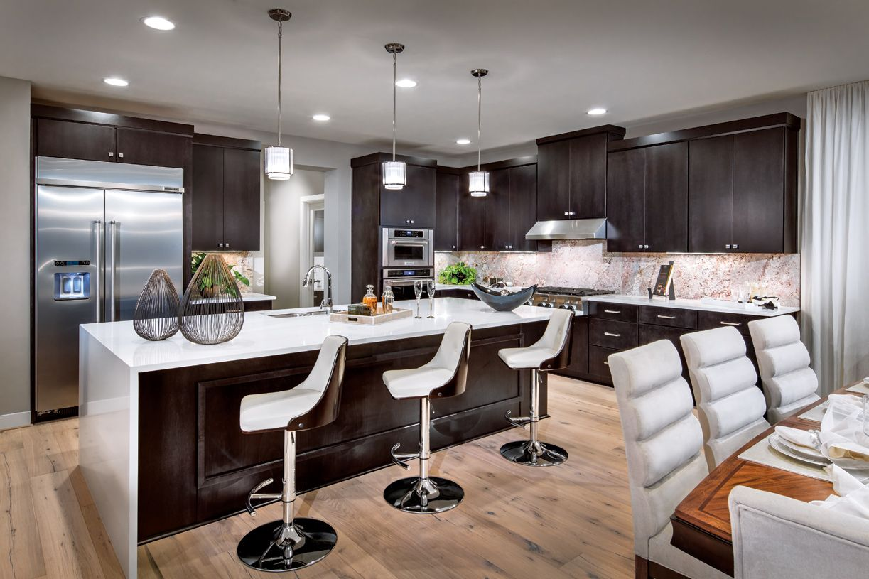 Kitchen featured in the Whistler By Toll Brothers in Seattle-Bellevue, WA