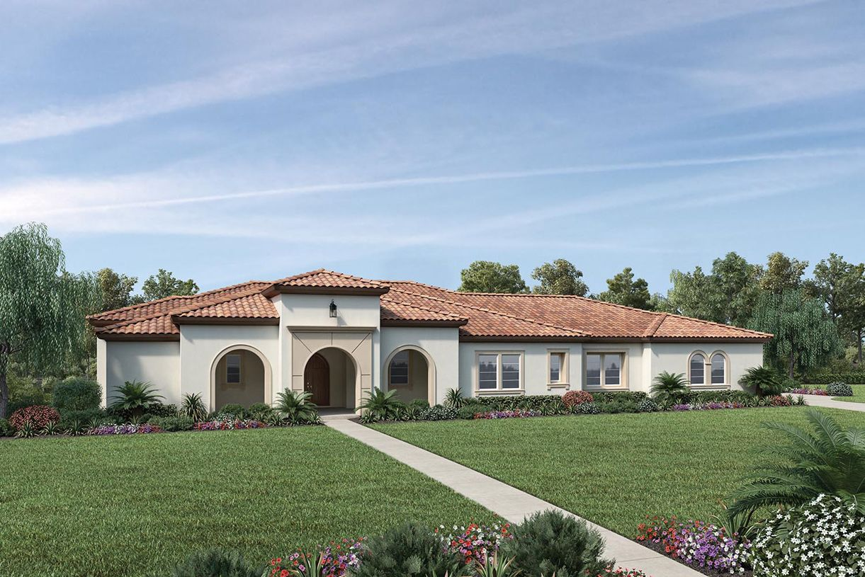 Exterior featured in the Colline By Toll Brothers in San Jose, CA