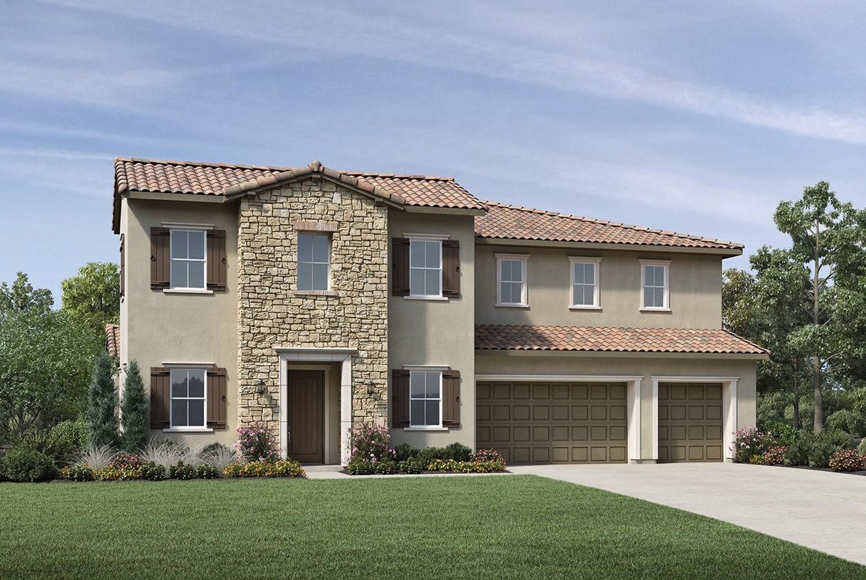 Exterior featured in the Foresthill By Toll Brothers in Sacramento, CA