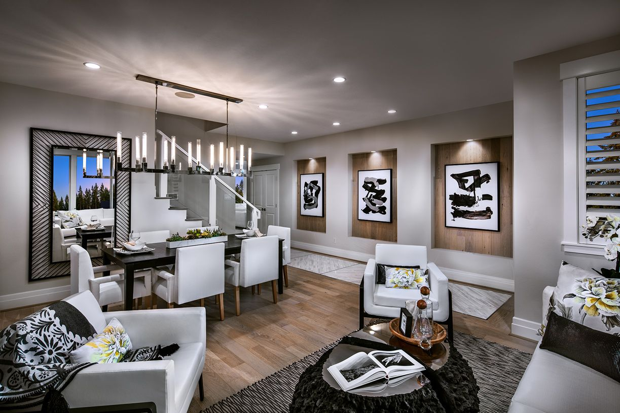 Living Area featured in the Tekoa By Toll Brothers in Seattle-Bellevue, WA