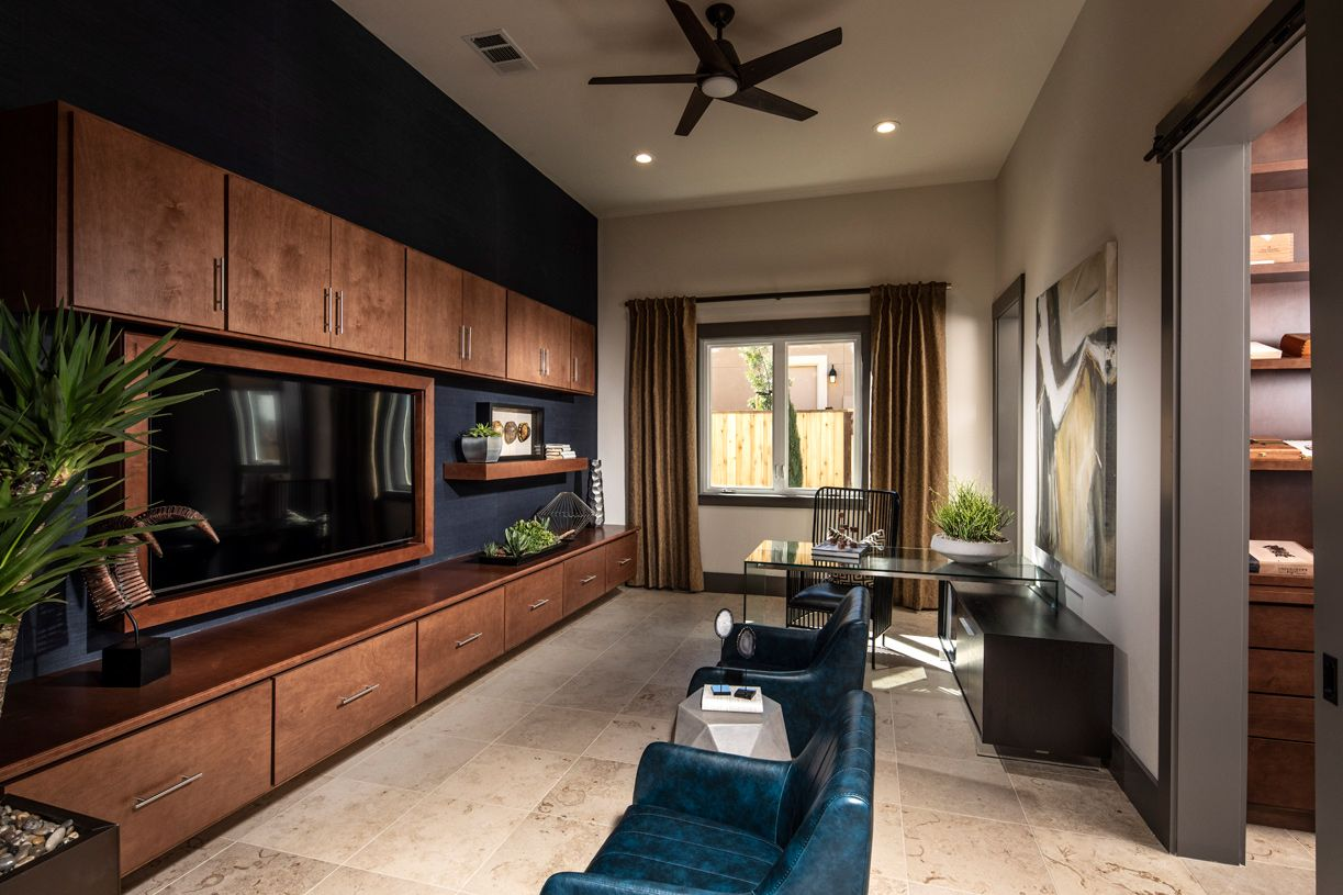 Living Area featured in the Bellina By Toll Brothers in San Jose, CA