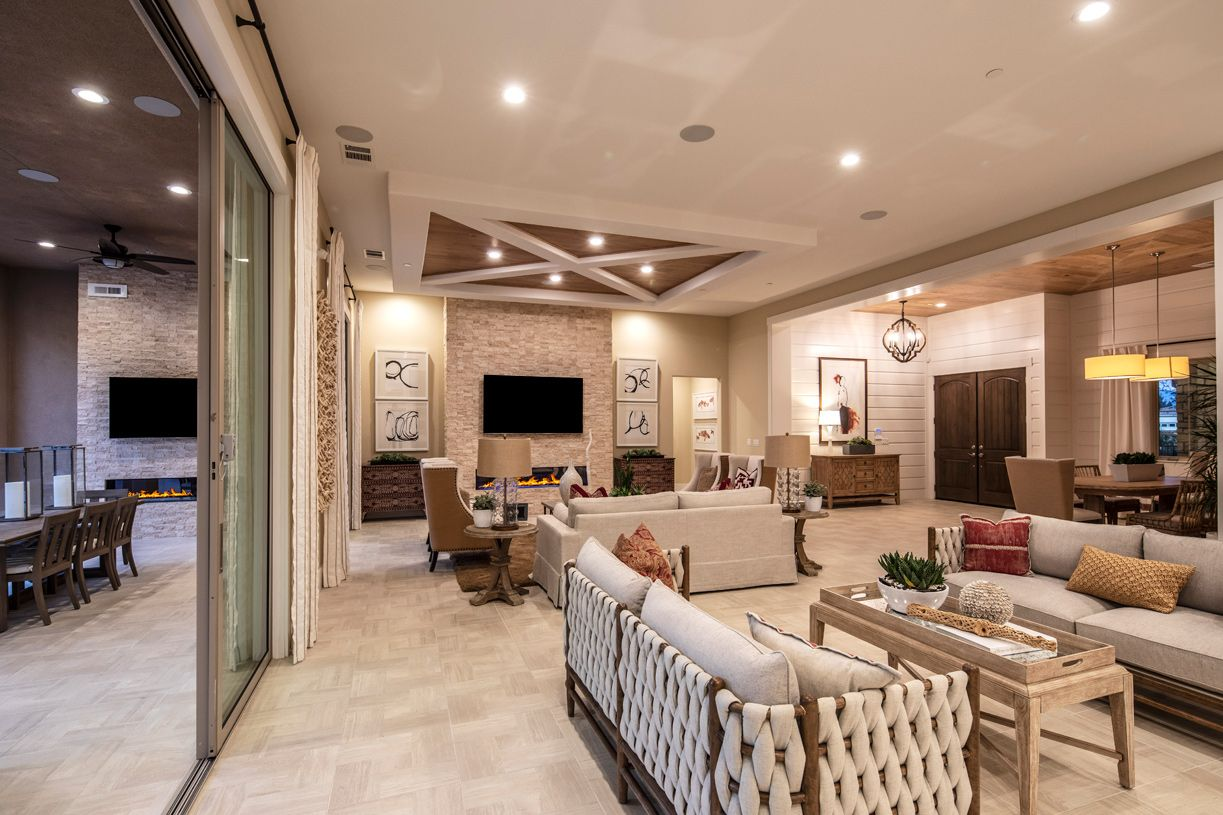 Living Area featured in the Colline By Toll Brothers in San Jose, CA