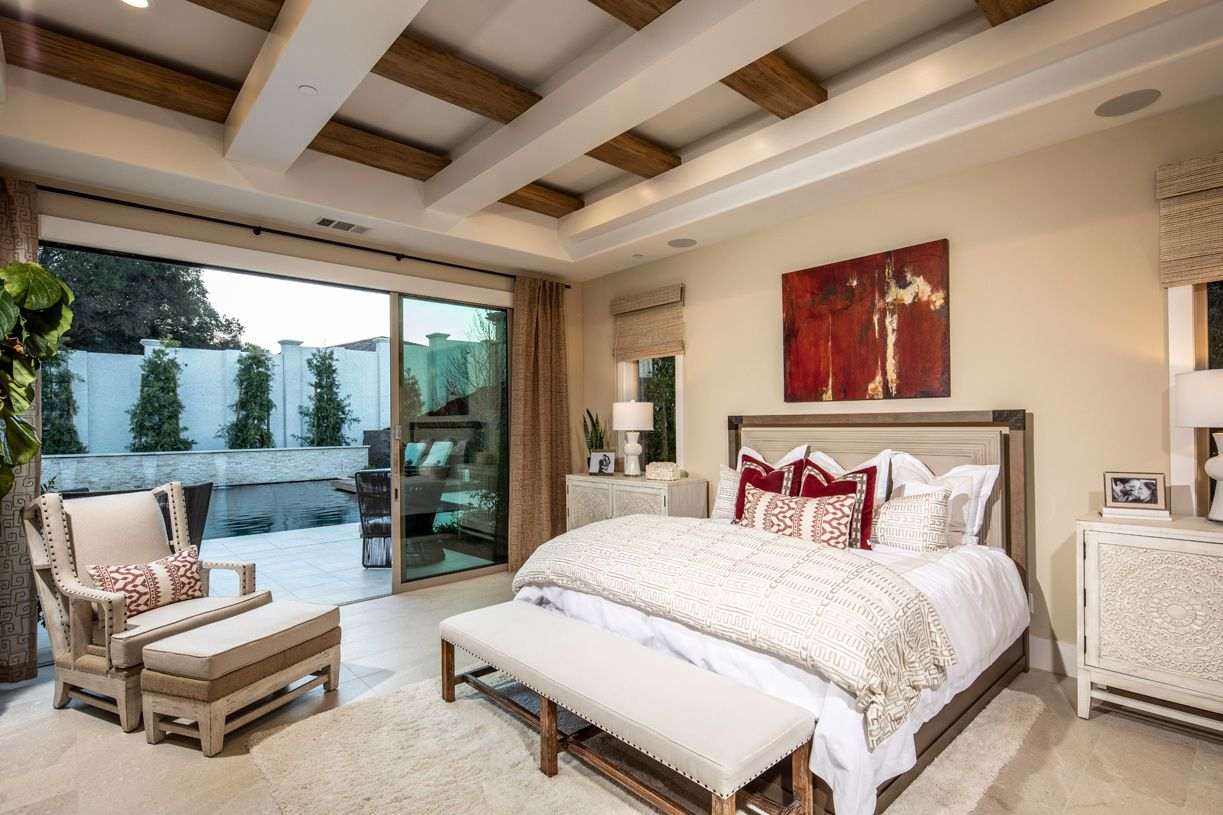 Bedroom featured in the Colline By Toll Brothers in San Jose, CA