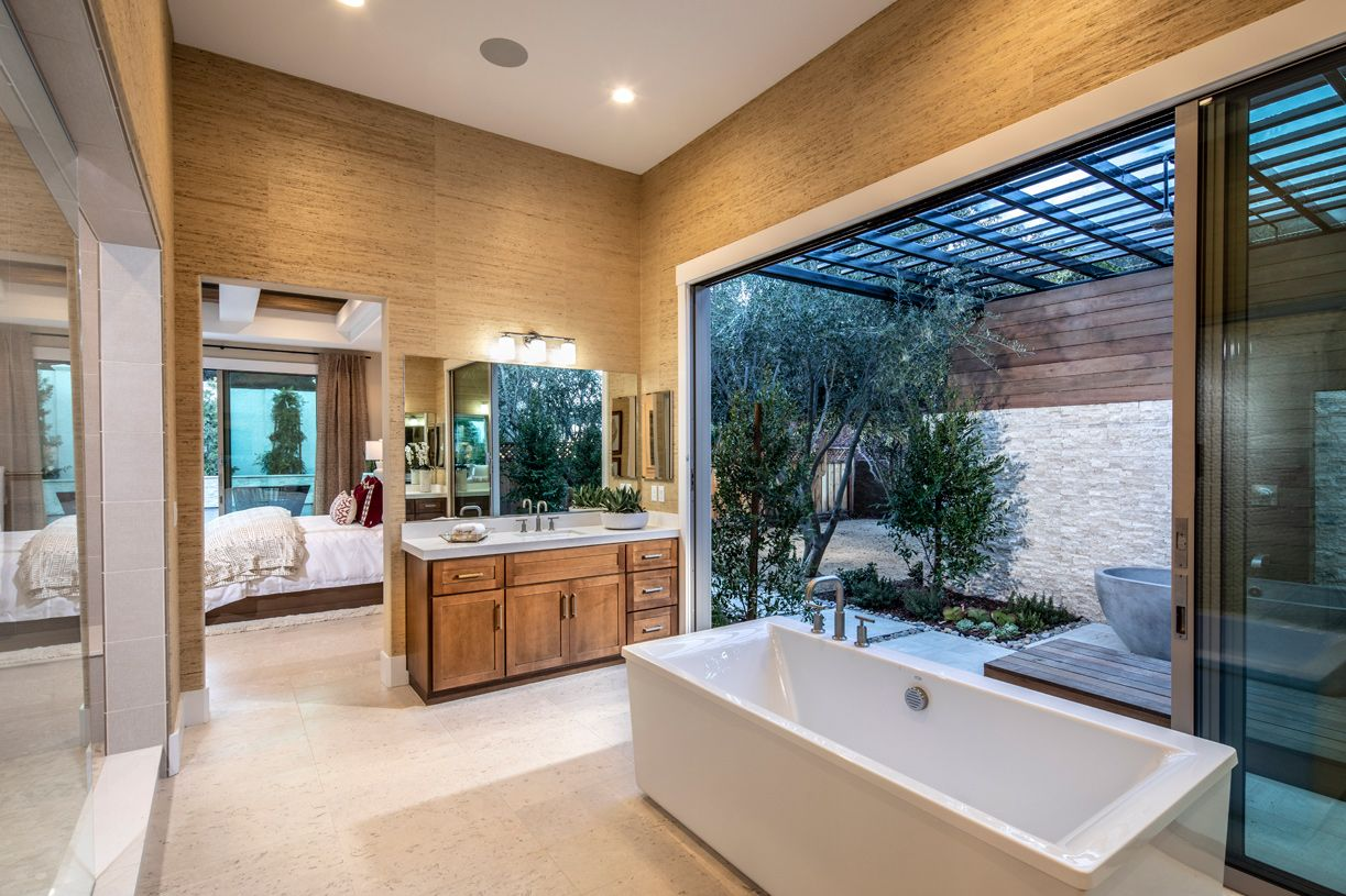 Bathroom featured in the Colline By Toll Brothers in San Jose, CA