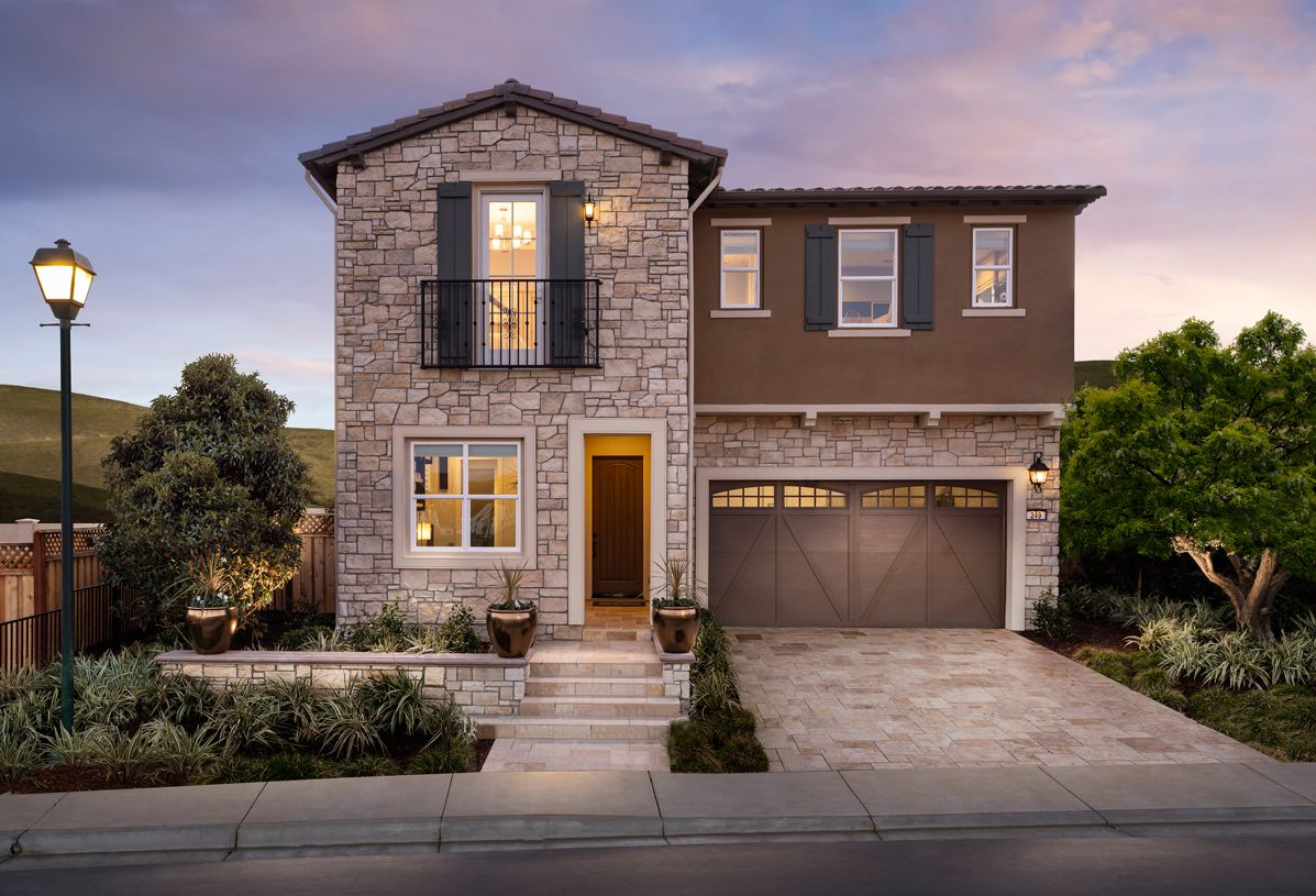 Exterior featured in the Desana By Toll Brothers in Oakland-Alameda, CA
