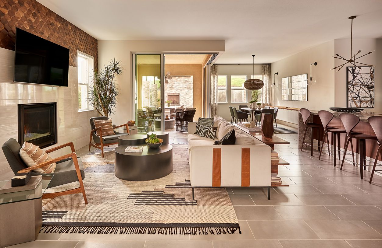 Living Area featured in the Parada By Toll Brothers in Oakland-Alameda, CA