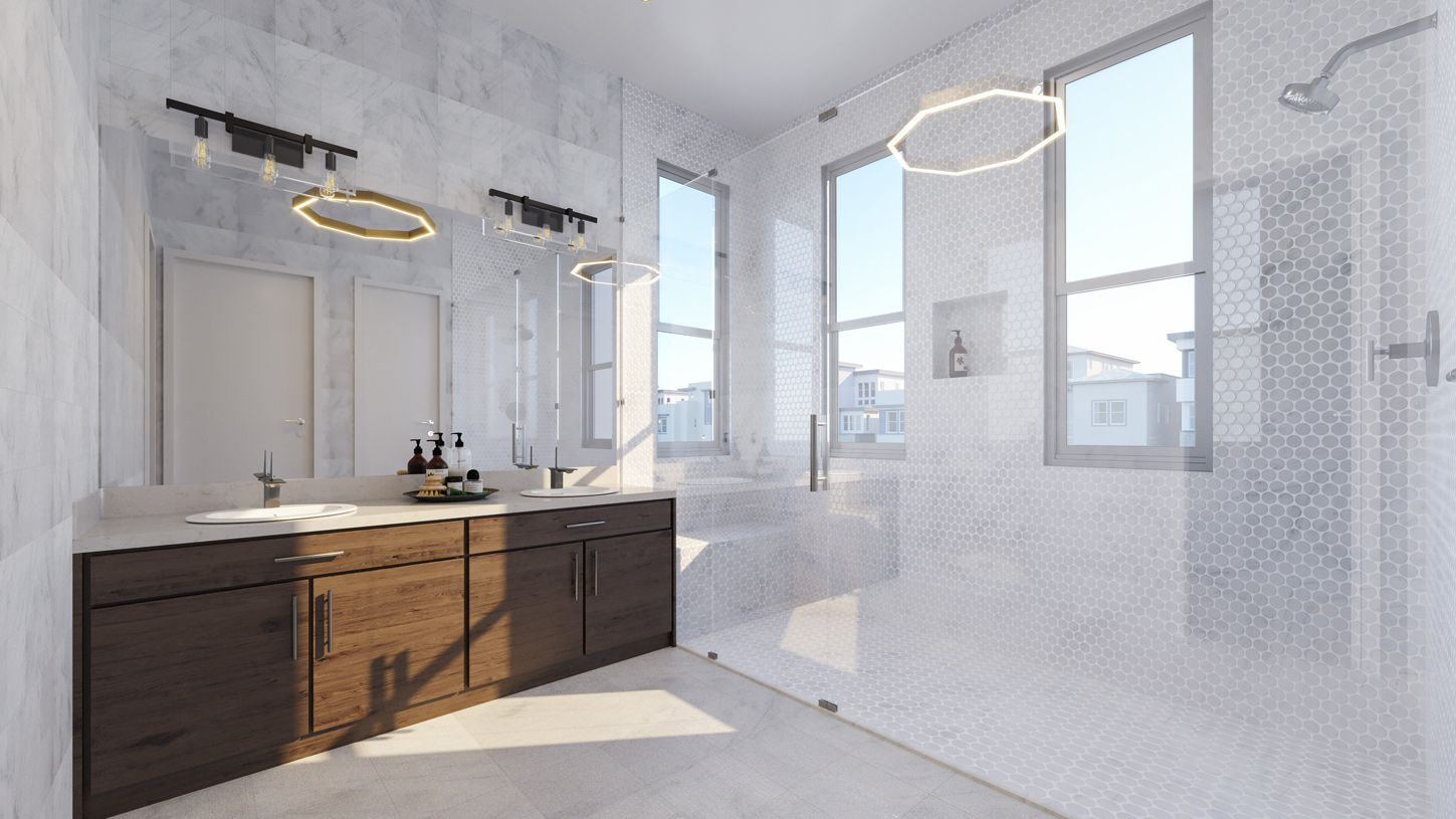Bathroom featured in the Nouveau By Toll Brothers in San Francisco, CA