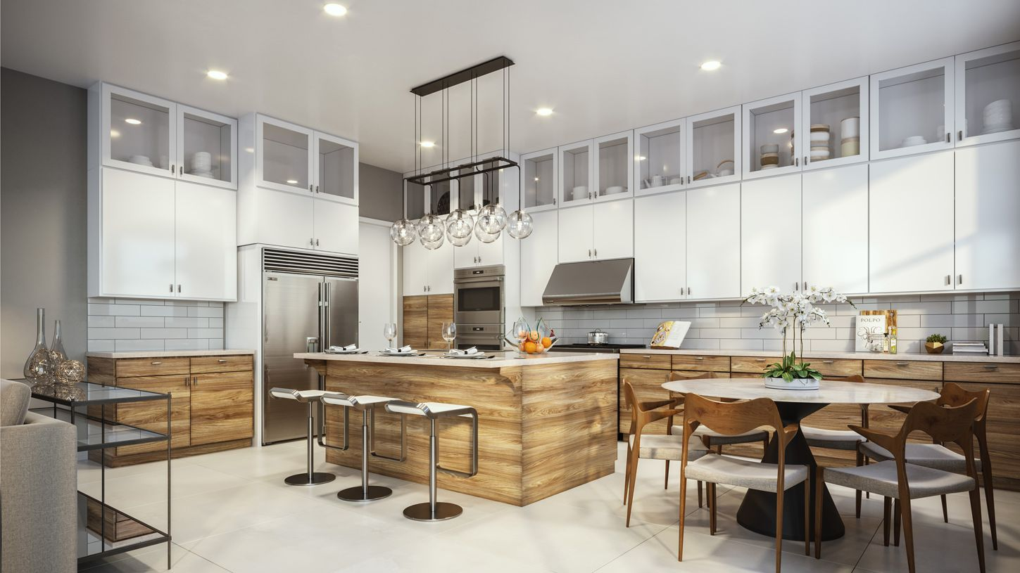 Kitchen featured in the Nouveau By Toll Brothers in San Francisco, CA