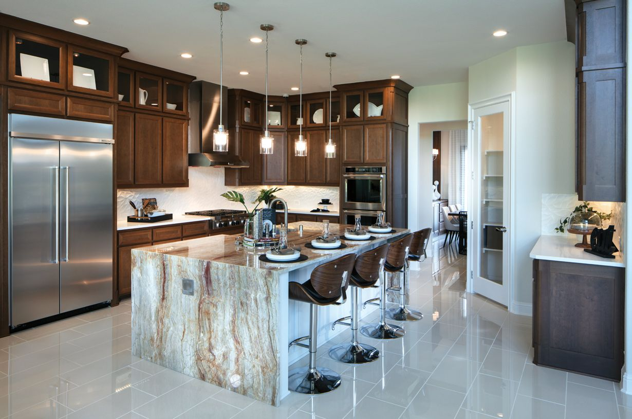 Kitchen featured in the Bellwynn By Toll Brothers in Austin, TX
