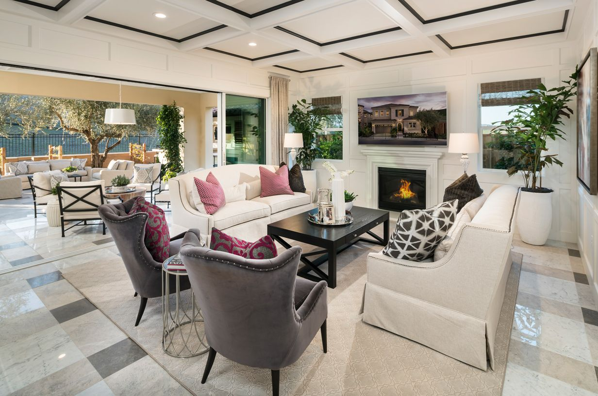 Living Area featured in the Canterbury By Toll Brothers in Oakland-Alameda, CA