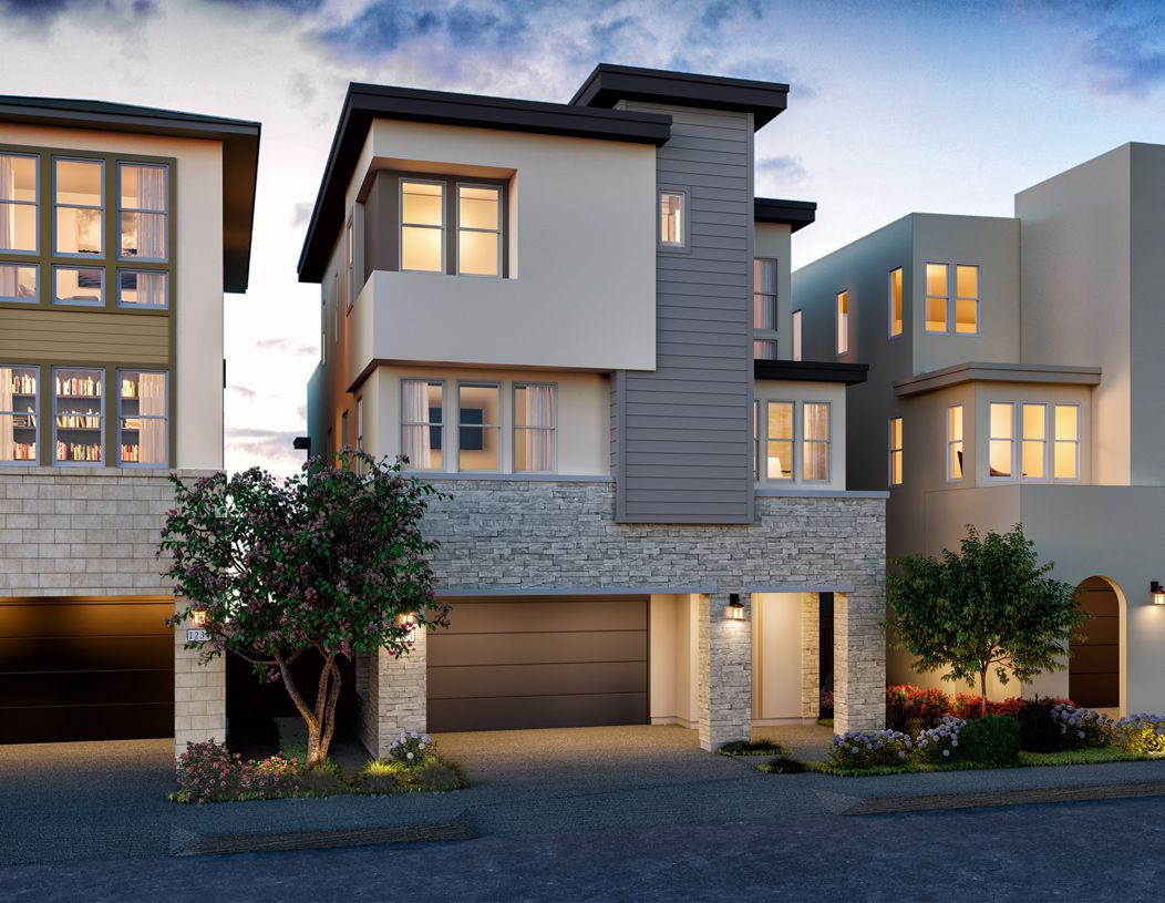 Exterior featured in the Nouveau By Toll Brothers in San Francisco, CA